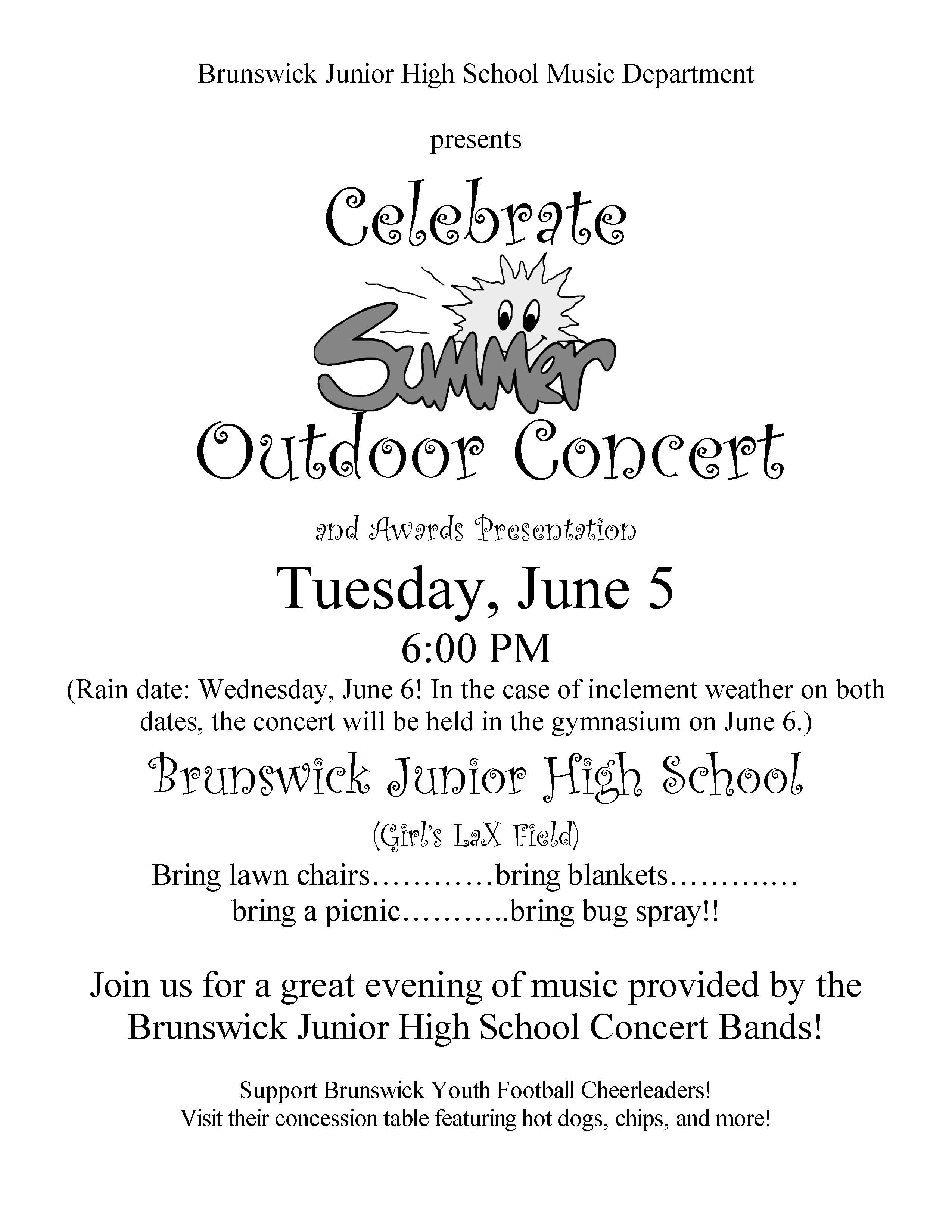 u0026quot celebrate summer u0026quot  outdoor band concert 2012