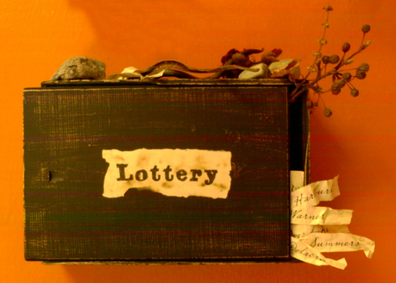Essay On The Lottery By Shirley Jackson Lottery  Essay On The Lottery By Shirley Jackson