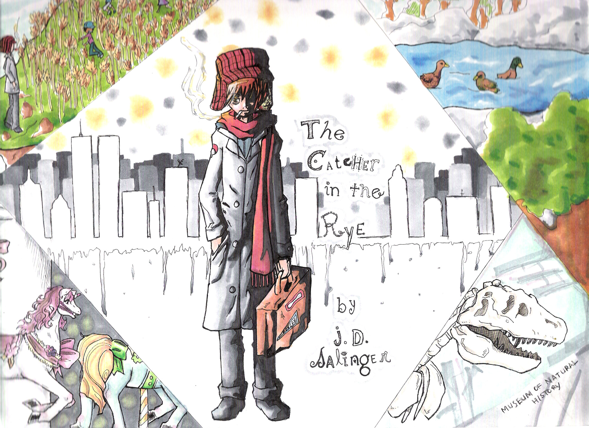 holden caulfield essay holden caulfield essay the catcher in the  the catcher in the rye symbolism essay the catcher in the rye catcher in the rye language voice and holden caulfield