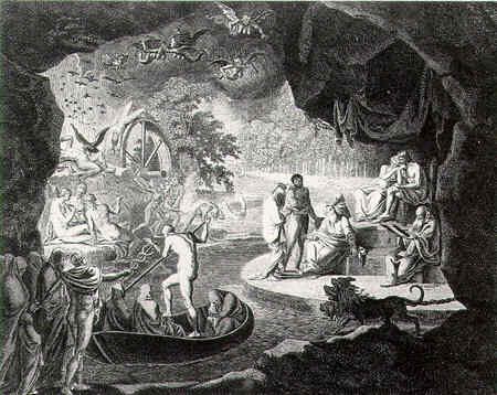 analysis of the odyssey book 11 Summary book xi book 11 odysseus sailed forth to the river ocean, which  encircles the earth, and offered the proper sacrifice on the shore the spirits.
