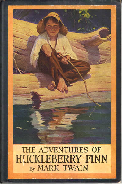 an analysis of the struggle of the main character in the adventures of huckleberry finn a novel by m The adventures of huckleberry finn this article examines the symbolism in huckleberry finn  this article explains each of the major symbols in the novel.