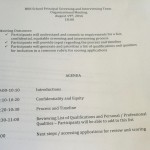 Organizational Meeting Agenda 8-19-16